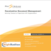 Paystream Advisors Receivables Document Management: Moving Toward a Paperless A/R Organization