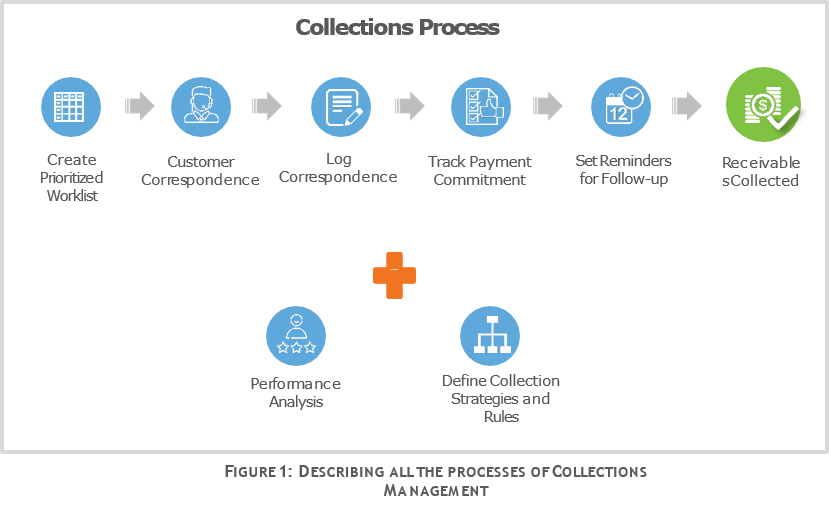 DESCRIBING ALL THE PROCESSES OF COLLECTIONS MANAGEMENT