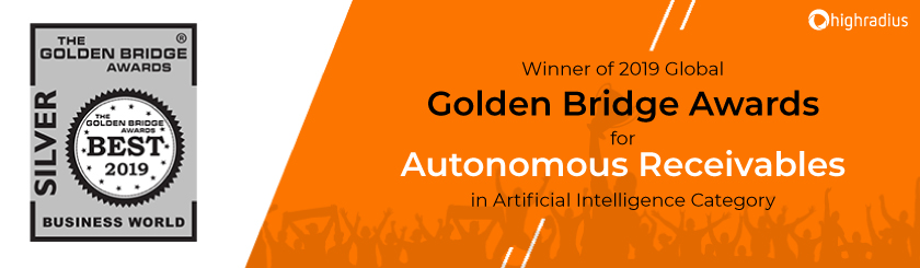 Golden Bridge Award in AI Category