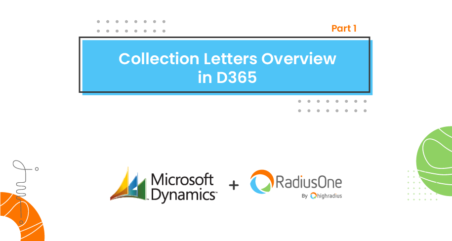 Collection Letters Overview in MS D365