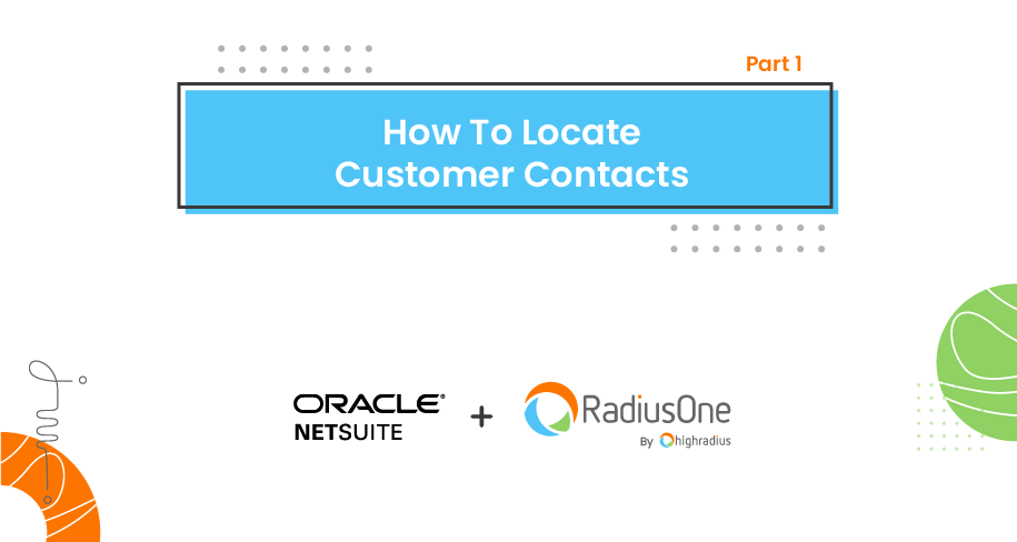 How To Locate Customer Contacts