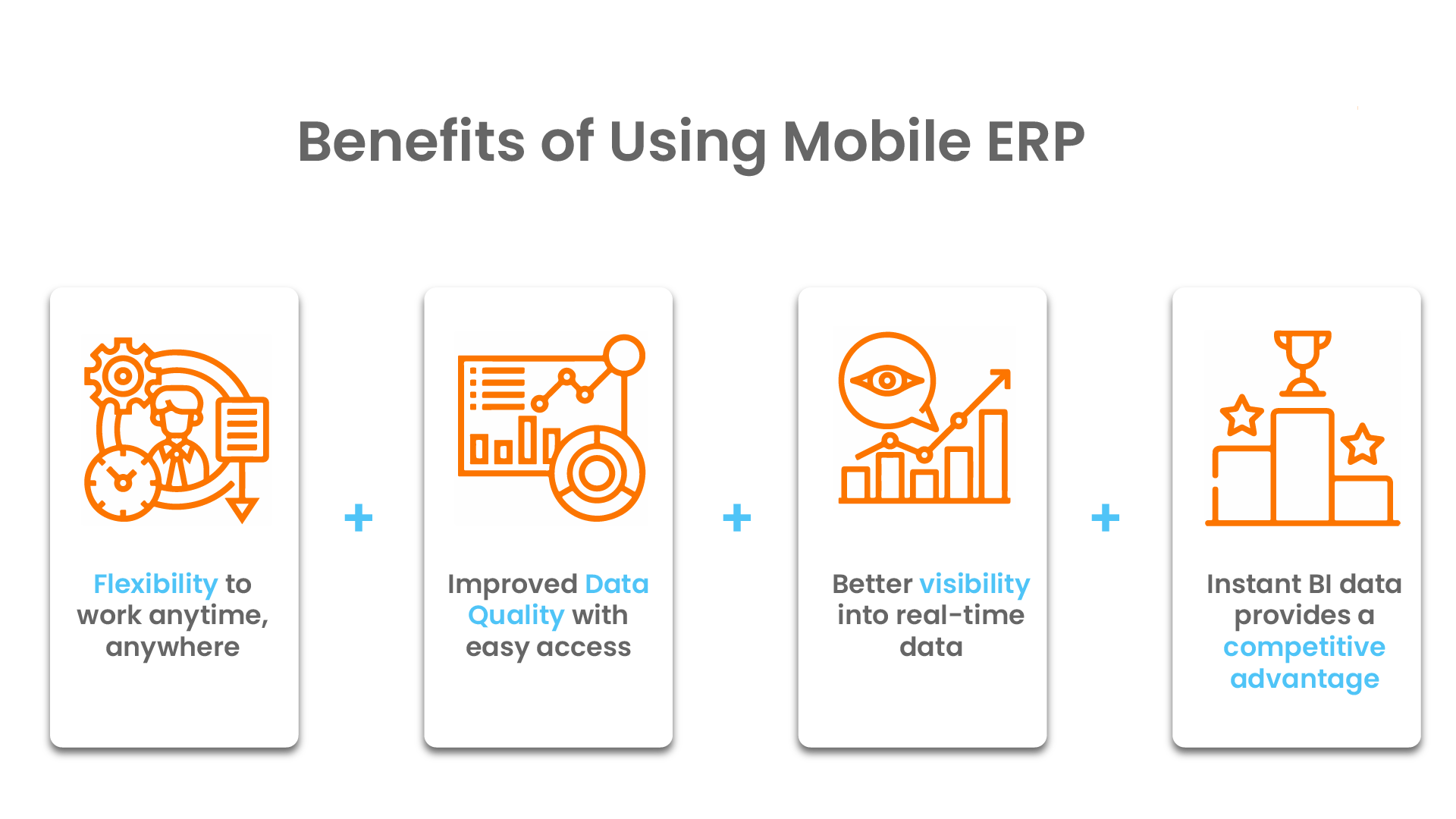 Benefits of using Mobile ERP